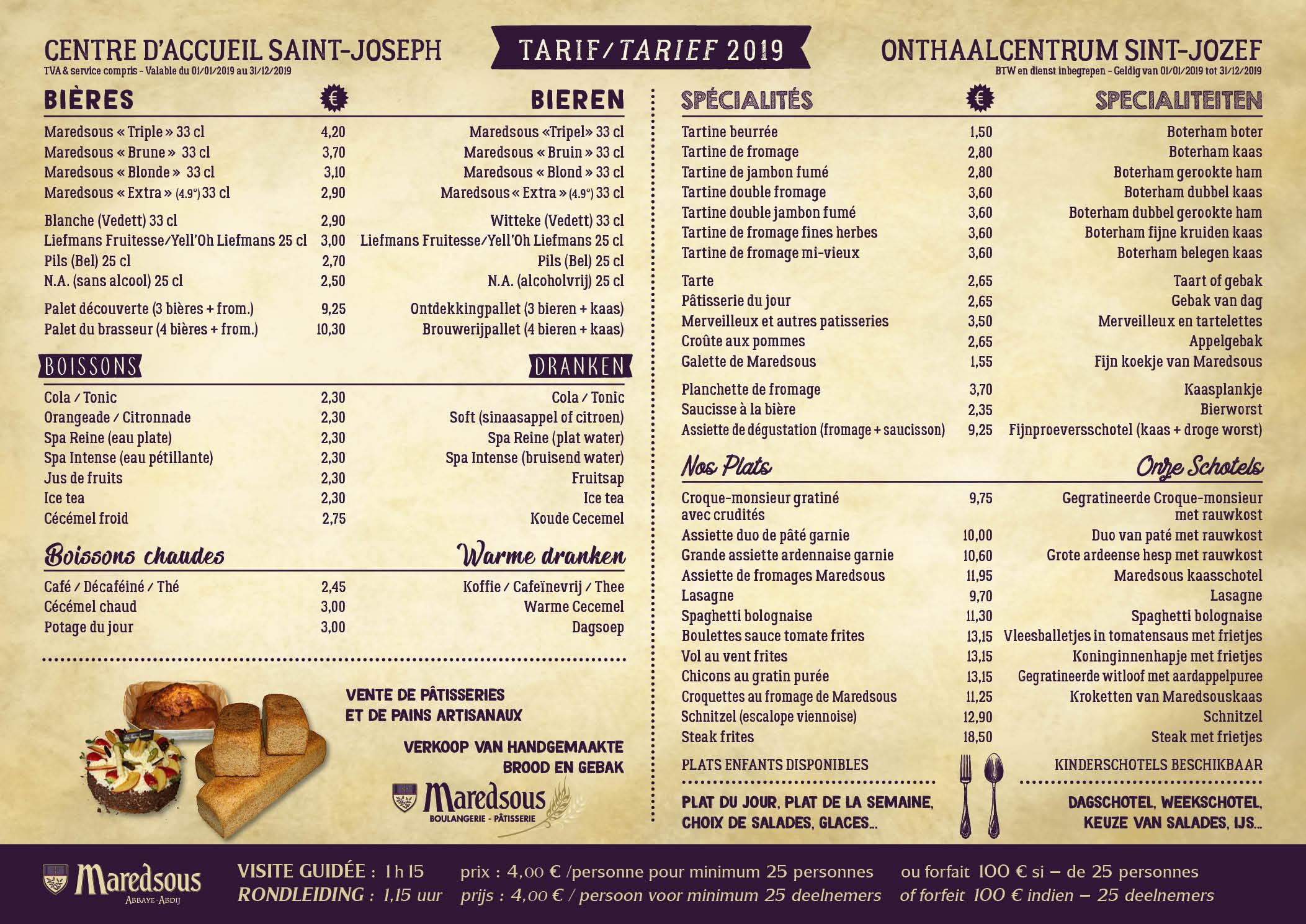 Carte Belgique Maredsous.Cafeteria L Abbaye De Maredsous